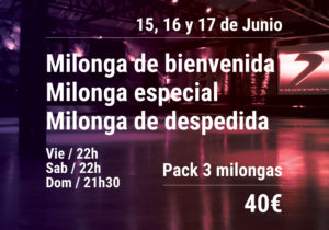 pack 3 milongas