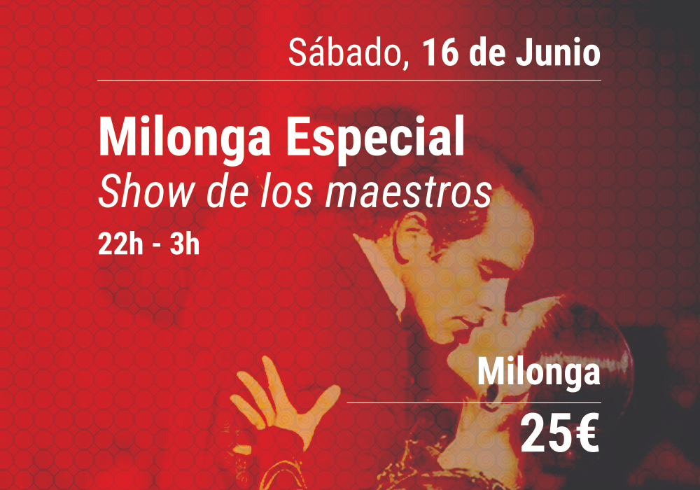 saturday milonga